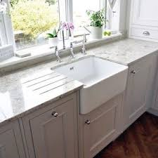 Belfast Kitchen Sink Rak Gourmet 2 White Ceramic Belfast Kitchen Sink 595 X 475 X 220