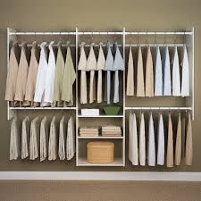 Rubbermaid Closet Helper Two It Yourself Best Small Closet System To Maximize