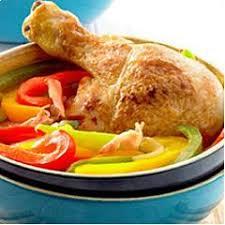 de cuisine seb poulet basquaise à l autocuiseur recette de cuisine seb