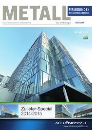 Metall Zulieferverzeichnis 2014 by –sterreichischer