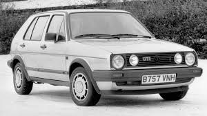 white volkswagen golf here u0027s the history of the first hatch the volkswagen golf gti