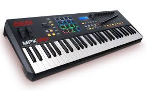 amazon com akai professional mpk261 performance keyboard