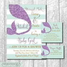 mermaid baby shower invitations mermaid baby shower invitations pinbrowser