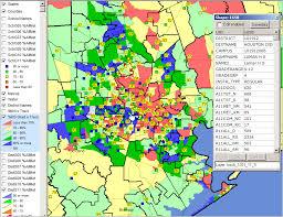 houston map districts school district performance analysis houston isd