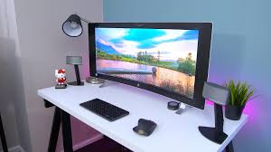 Minimalist Work Desk Minimalist Desk Tour Youtube