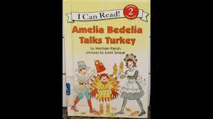 tami reads amelia bedelia talks turkey by herman parish