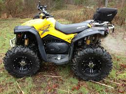 lets see those aftermarket wheels and tires can am atv forum