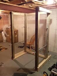 randle taylor home built power rack