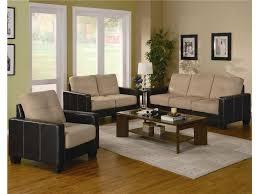 Aarons Rental Living Room Furniture Homelegance Anthony 3 Piece Living Room Set In Brown U0026 Dark Brown