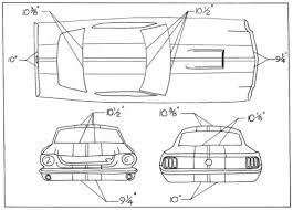1968 mustang dimensions is anyone going to add paint stripes page 2