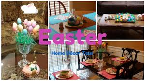 easter home decor tour youtube