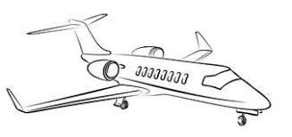 sketch passenger aircraft stock vector image 78354956