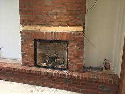 brick veneer fireplace hearth wpyninfo