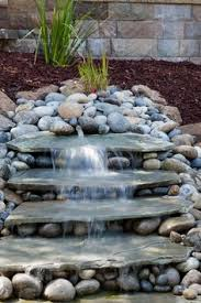 Waterfalls In Backyard Ponds by Garden Pond With Waterfall For Back East Corner Green Thumb