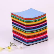 Sewing Ideas For Home Decorating 44pcs Assorted Color Non Woven Felt Fabric Sheets Cloth Felts