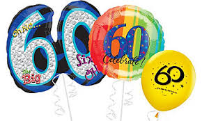balloons delivered 60th birthday balloon bouquet delivery in portland or 503 285 0000