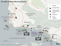 Alaska Pipeline Map by The Last Oil Spill In Santa Barbara Helped Birth Environmentalism