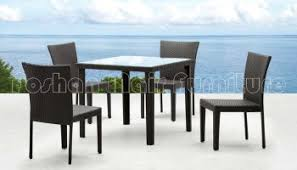 Wicker Outdoor Furniture Ebay by Rattan Garden Dining Set Metal Table 2 Chairs Outdoor Patio Bistro