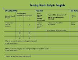needs assessment template sample financial needs assessment form