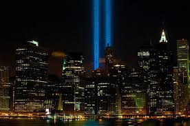 9 11 Memorial Lights 9 11 Tribute In Light Damn Cool Pictures