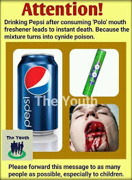 Challenge Hoax Pepsi Coke And Mentos Is It A Killer Combination Scribbles