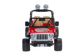power wheels jeep hurricane green fisher price power wheels jeep wrangler lava red u0026 black