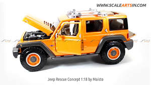 matchbox jeep renegade jeep rescue concept 1 18 by maisto diecast scale model car www