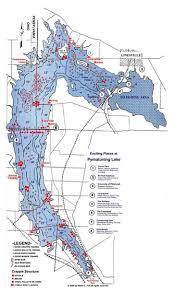 Map Of Ohio State Parks by Pymatuning Lake Association Lake Map