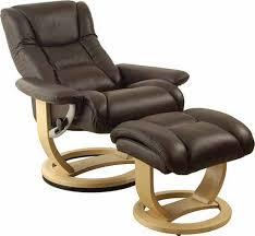 Recliner Swivel Chair Leather Swivel Recliner Chair Silo Tree Farm