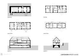 gallery of cantzheim vineyard manor house max dudler 28 cantzheim vineyard manor house manor house plans and sections