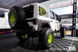 jeep wheels white 2017 sema centerline wheels white jeep jk wrangler unlimited