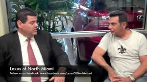 lexus miami north ray blanco talks with new lexus gs owner jose barrera about his