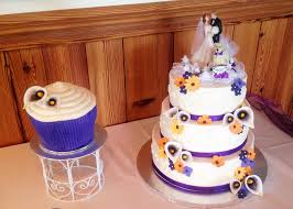 giant wedding cakes purple summer flowers with giant cupcake masterpieces cake art
