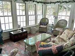 interior fair small sunrooms design and decoration using glass