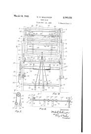 patent us2193558 hand loom google patents