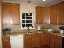 kitchen lighting white bay window design in between the dark