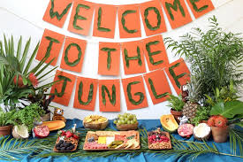 jungle baby shower throw a tropical jungle baby shower hgtv