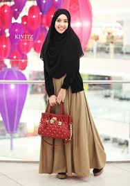 wedding dress muslimah simple kivitz kivitz basic dress light brown fashion idea moslem