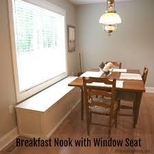 breakfast nook with window seat jpg