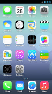 iphone 6 launcher for android ios 7 launcher retina iphone 5 1 0 0 apk for android