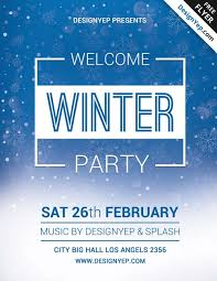 welcome brochure template welcome flyer template winter welcome free psd