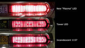 led replacement light bulbs for cars super bright plasma led 1157 taillight bulbs comparison video