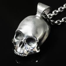 silver skull pendant necklace images Keith handmade silver skull pendant necklace dead ringers jpg