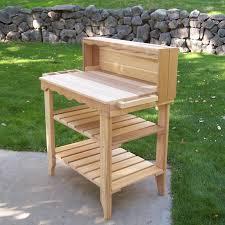 woodcountry deluxe potting bench u0026 reviews wayfair