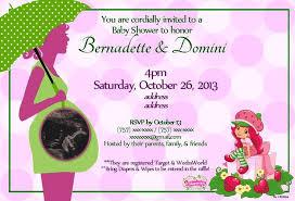 strawberry shortcake baby shower invitations afoodaffair me