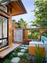Outdoor Shower Room - outdoor shower exotic bath tropical design