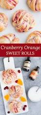 cranberry orange sweet rolls baked by an introvert