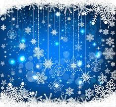 blue christmas blue christmas background vector illustration free vector