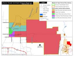 Map Of Tempe Arizona by Cave Creek Az Unified District Boundary Maps