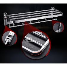 steel bathroom accessories set chrome wall mount